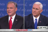 Kaine: 'Why don't you trust women?'