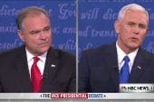 Pence and Kaine debate Clinton's...