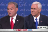 Kaine on taxes: 'So it's smart not to pay?'