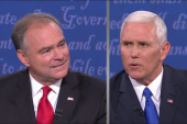 Pence to Kaine: 'You whipped out that...