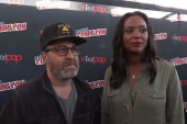 Joy Reid Talks to 'Archer' Cast