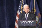 Pence dismisses 'unsubstantiated allegations'