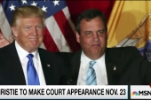 Trump saddled with Christie's legal problems