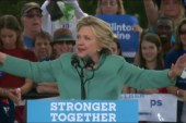 Early numbers look promising for Clinton
