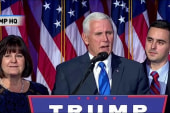Pence: 'The American people have spoken'