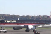 Trump lands in DC for White House meeting