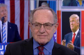 Alan Dershowitz: 'No evidence' Bannon is...