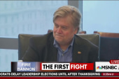 Democrats demand Trump dump Bannon