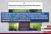 Daughter of Sandy Hook victim asks Trump...