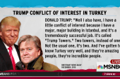 Trump saw Turkey conflict in Bannon interview