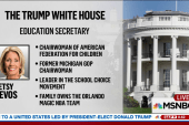 Trump picks charter school advocate to...