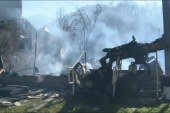 Tennessee town assesses wildfire damage