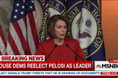 Pelosi re-elected as House Democratic leader
