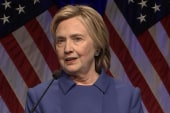 Clinton speaks out, first time since election