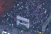 Thousands protest Trump's victory around U.S.