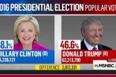 Few precedents for popular vote gap like 2016