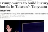 Trump under fire for call with Taiwan's...