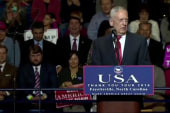 Trump pushes for waiver for Gen. Mattis