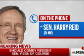 Senator Harry Reid responds to WAPO's report