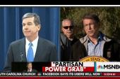 A 'legislative coup' in North Carolina