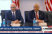 Trump blurs lines between transition &...