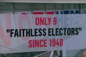 Breaking down the electoral college vote