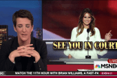 Melania a model for Trump media crackdown?