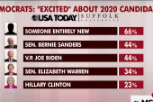 Dems excited for someone new in '20: poll