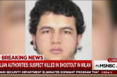 Berlin terror suspect killed in Italy