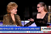 Did Debbie Reynolds die of a broken heart?