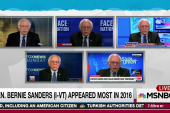 Sanders most booked on Sunday shows in 2016