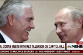 Coons: Tillerson's relationship with Putin...