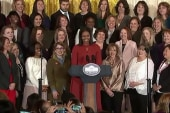 Michelle Obama gives final remarks as...
