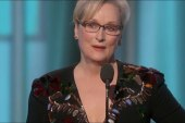 Meryl Streep takes on Trump at the Golden...