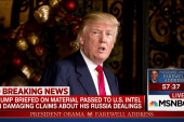 Bombshell report on Trump's Russia briefing