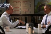 Lester Holt gets rare access to Obama on...