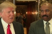 Steve Harvey: Thought Trump was a 'great guy'