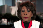 Rep. Waters on Trump: 'we are going to...
