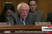 Sanders confronts Trump Education Secy....