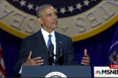 Obama exits with long list of accomplishments