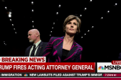 Trump fires acting AG over travel ban dissent