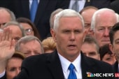 Mike Pence takes Oath of Office for Vice...