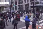 Protests erupt in streets of Washington on...