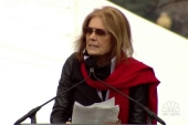 Gloria Steinem at women's march: 'Don't...