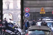 Man shot after attack outside Louvre