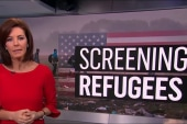 How extensive is the refugee screening...