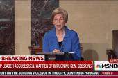 Warren silenced for criticizing Sessions