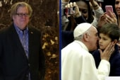 Steve Bannon vs. The Pope