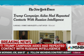 NYT: Trump camp, Russian officials in contact