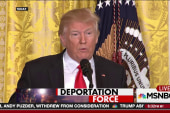 Trump deportation plan underway